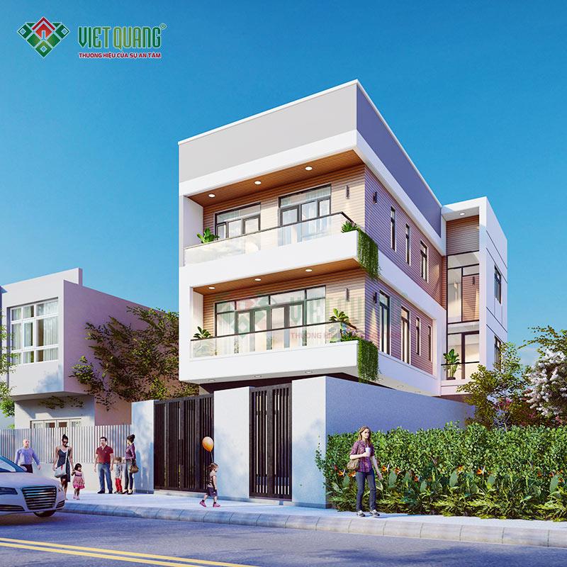 Mẫu thiết kế nhà phố 3 tầng đẹp, hiện đại – 38
