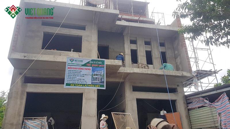 Xây dựng nhà 3 tầng có gác lửng