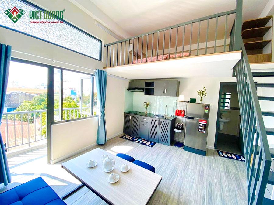 Một căn hộ cho thuê sáng sủa, thông thoáng và nội thất đầy đủ như vậy là mong muốn của nhiều người đi thuê nhà