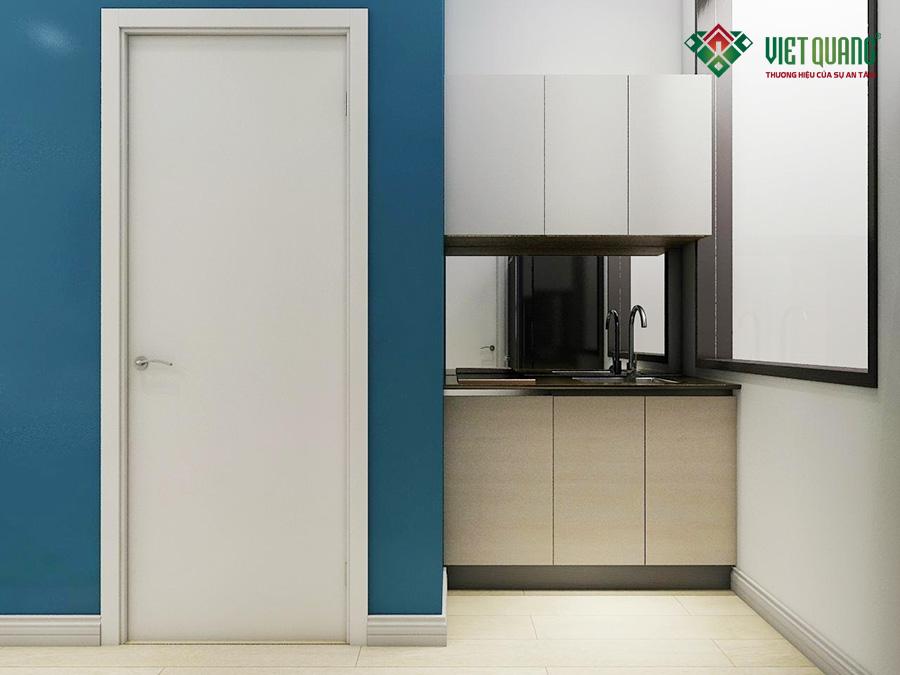 Nội thất căn hộ của mẫu thiết kế nhà phố 6 tầng làm căn hộ cho thuê cao cấp