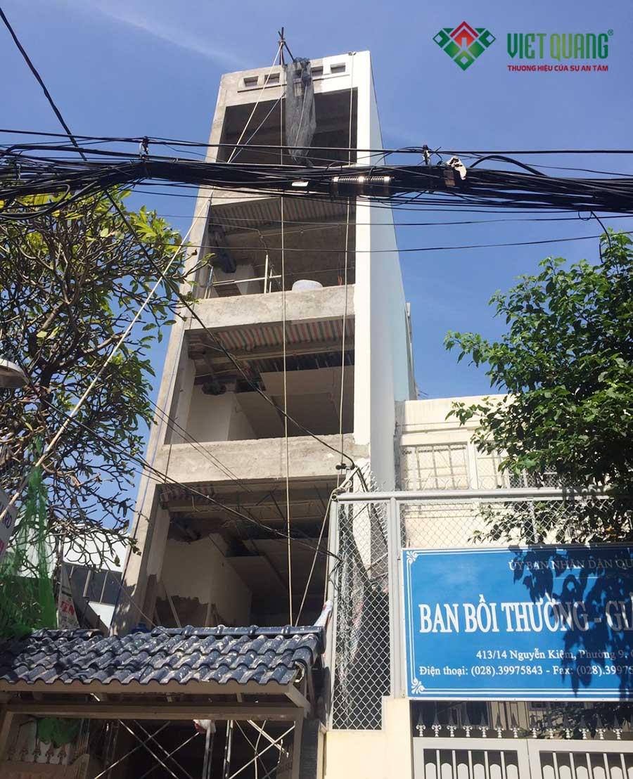 Cải tạo nâng tầng thành căn hộ cho thuê cao cấp tại quận Phú Nhuận