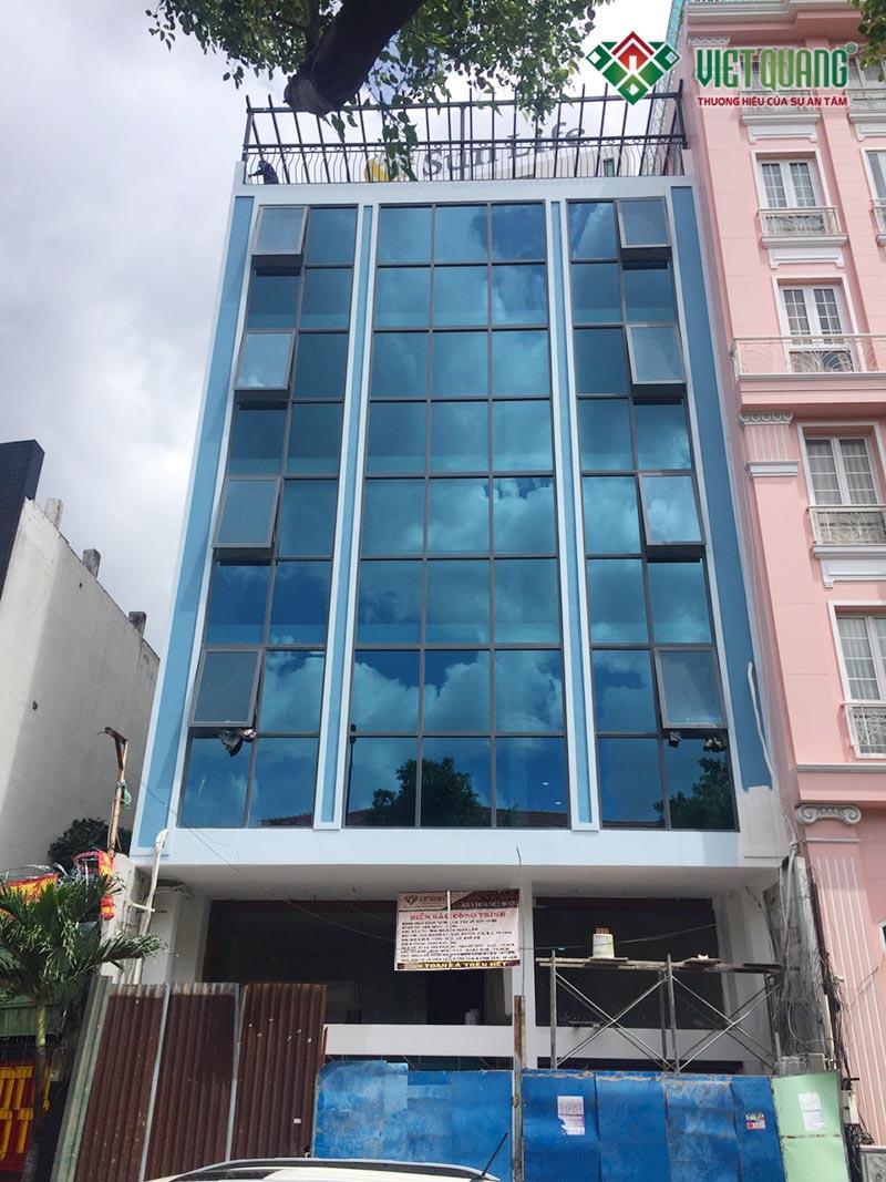 Cải tạo văn phòng làm việc 7 tầng tại quận 3