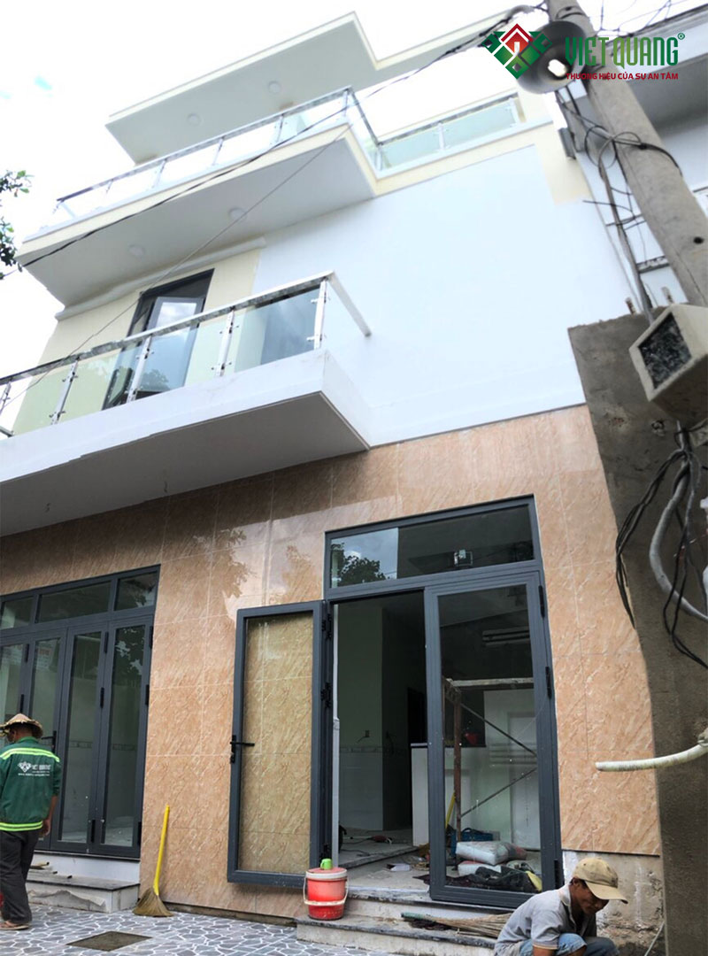 Xây dựng nhà phố 3 tầng nhà anh Nam quận Thủ Đức