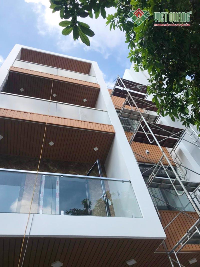 Xây nhà trọn gói 4 tầng 6.85×13.6m tại quận Tân Bình